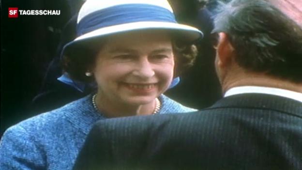 Video «Queen Elizabeth II. auf Staatsbesuch in der Schweiz» abspielen