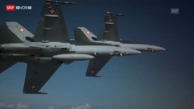 Video «Bürozeiten für die Luftwaffe. (10vor10)» abspielen