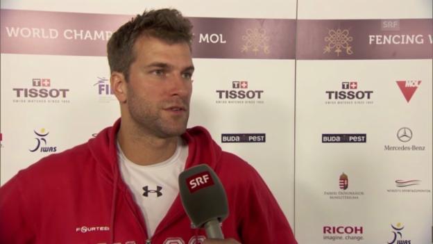 Video «Fecht-WM: Interview mit Benjamin Steffen» abspielen