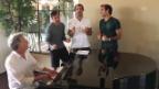 Video «Roger Federer als Boyband-Mitglied» abspielen