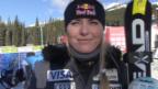 Video «Ski: Weltcup Frauen, Interview Lindsey Vonn» abspielen