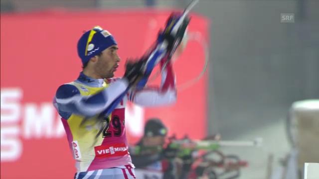 Biathlon-WM: Martin Fourcade
