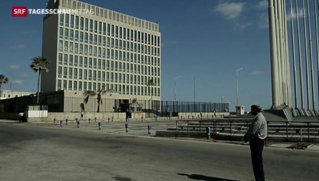 Video «Rückkehr zu vollständigen diplomatischen Beziehungen» abspielen