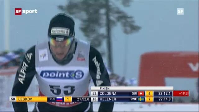 Langlauf: 10 km Männer Kuusamo, freie Technik («sportaktuell»)