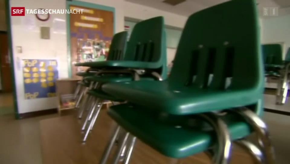 Öffentliche Schulen wegen Shutdown geschlossen