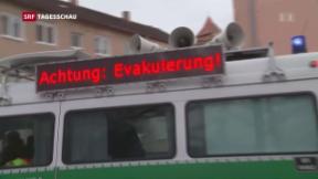 Video «Evakuierung in Augsburg» abspielen
