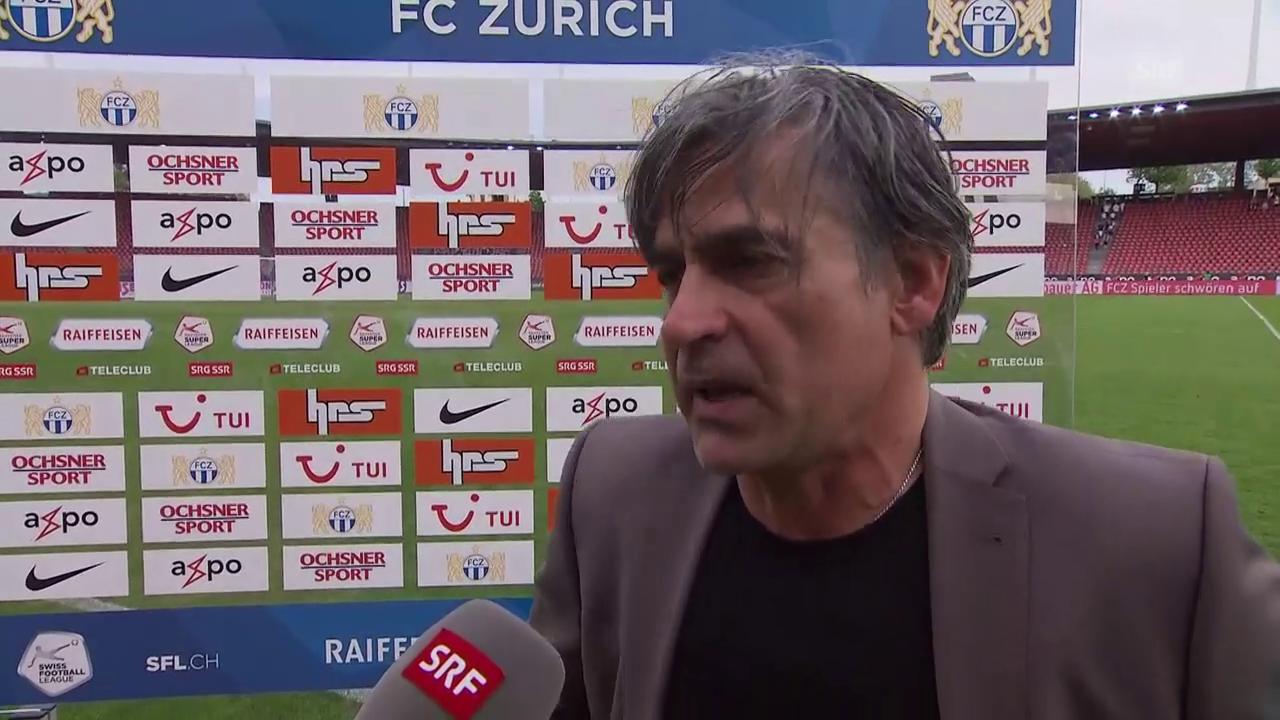 Maurizio Jacobacci: «Wir haben die Geduld verloren»