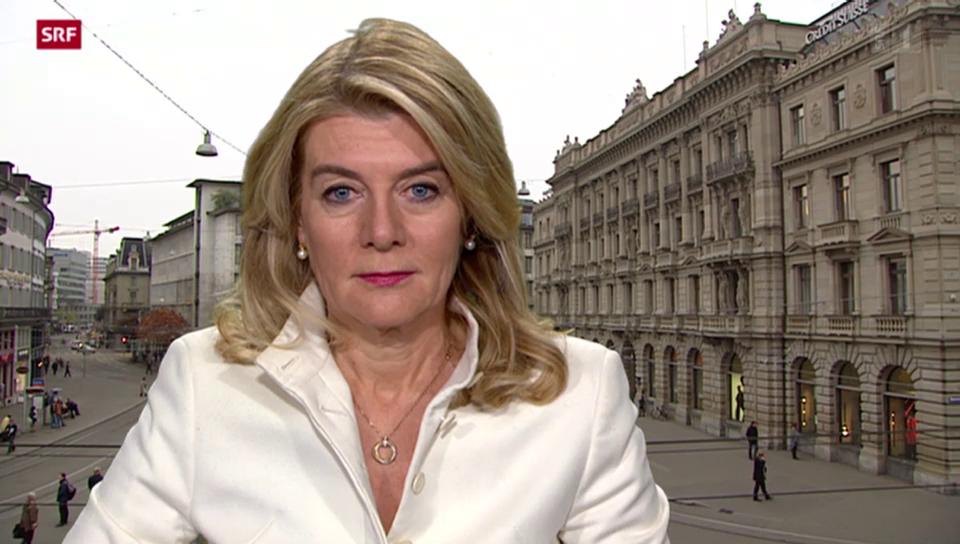 SRF-Wirtschaftsredaktorin Marianne Fassbind zur HSBC-Durchsuchung