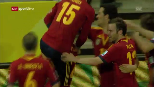 Penaltyschiessen Spanien-Italien («sportlive»)