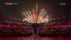 Video «Die Eröffnungsfeier der Paralympics in Pyeongchang» abspielen