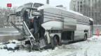 Video «Schwerer Car-Unfall in Zürich» abspielen
