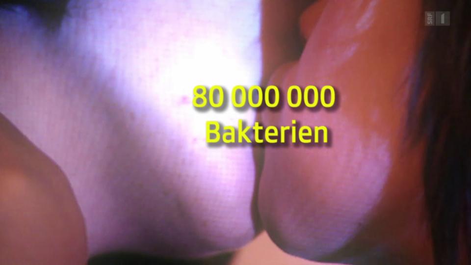 Bakterientausch beim Zungenkuss