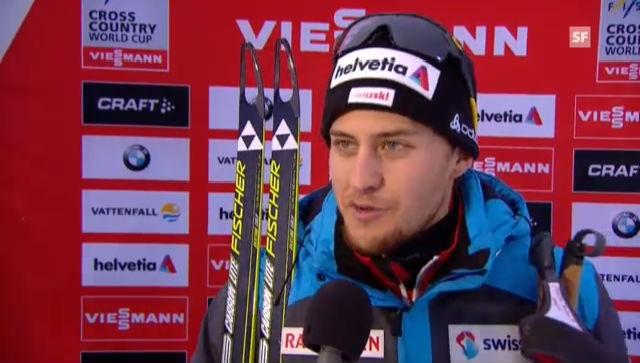 Langlauf-Staffel: Interview Roman Furger