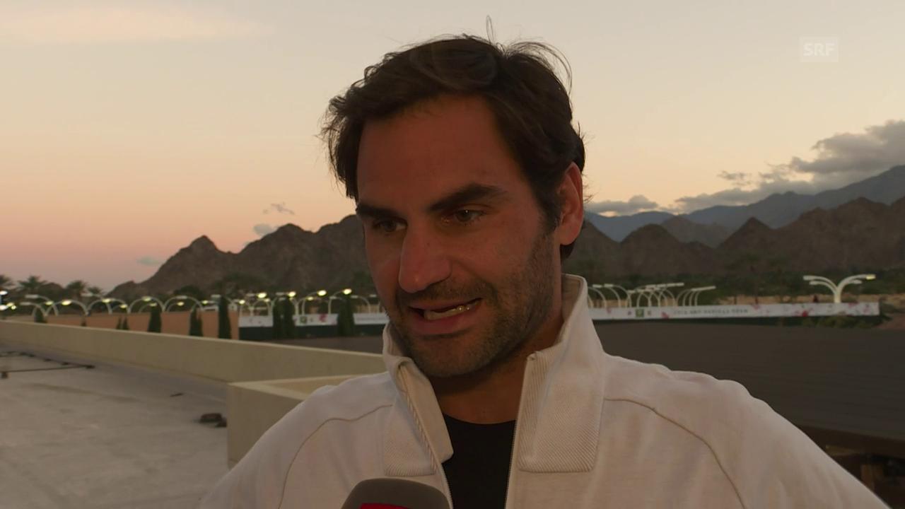 Federer: «Ich erwarte einen schwierigen Match»