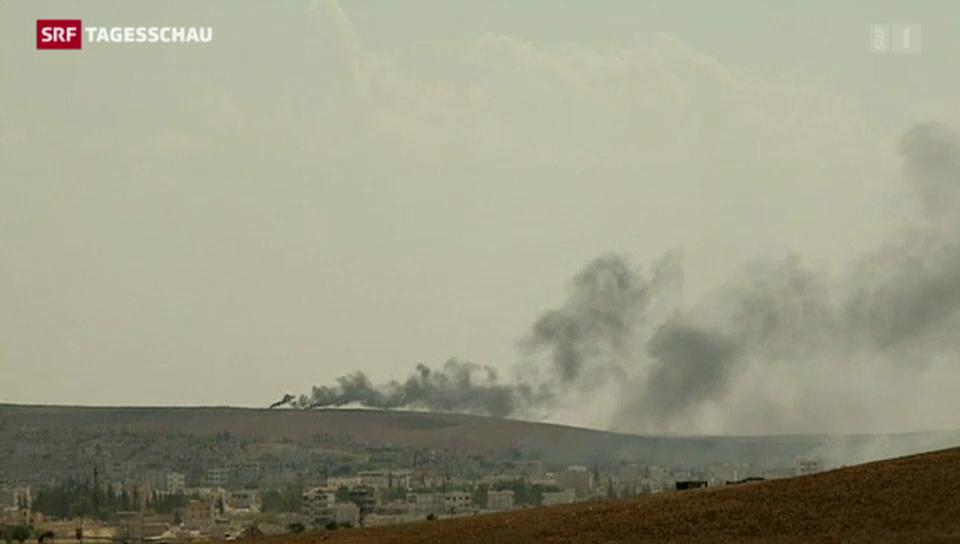Weiterhin erbitterter Kampf um Kobane
