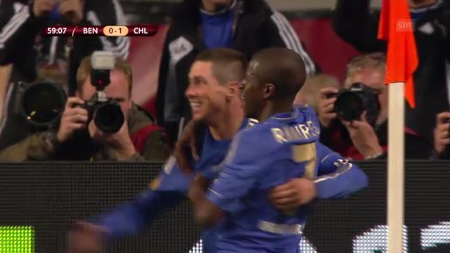 Torres' Tor gegen Benfica