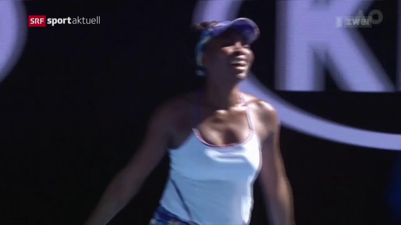 Williams gegen Williams im Melbourne-Final