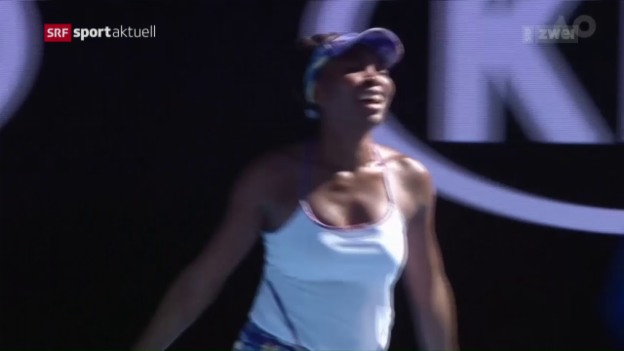 Video «Williams gegen Williams im Melbourne-Final» abspielen