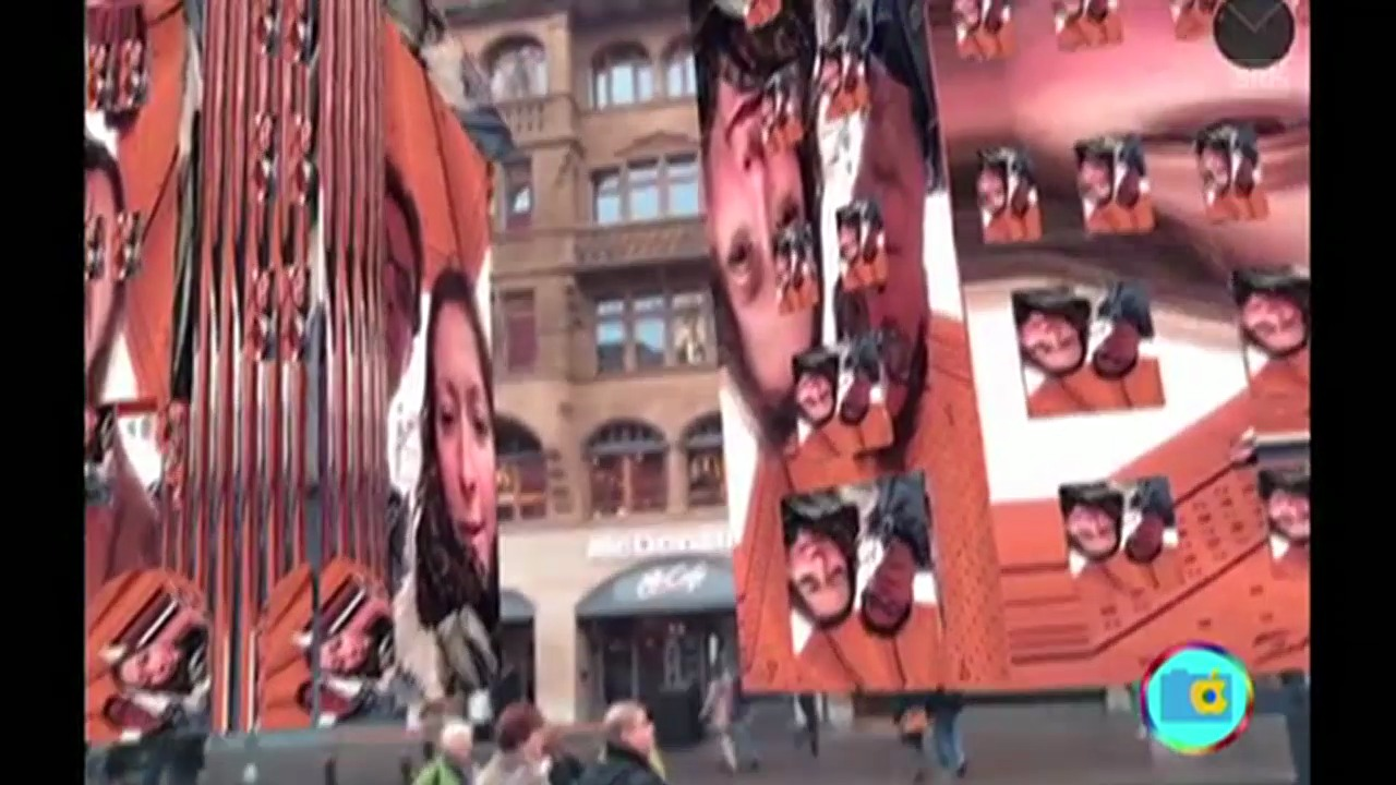 «Mirror City»: Selfies an Basler Gebäudefassaden