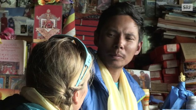 Video «Der Rat von Lama Geshe: «Besser, Gutes tun»» abspielen