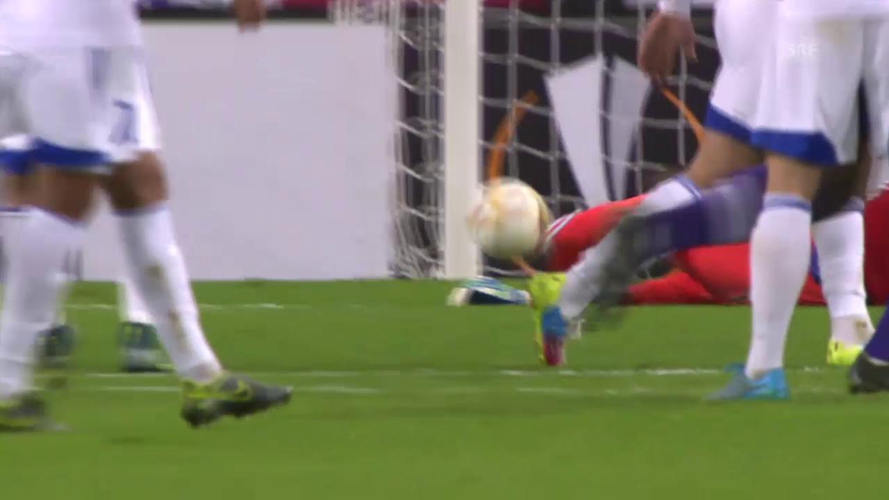 Fussball: Europa League, Anderlecht-Karabach