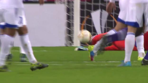 Video «Fussball: Europa League, Anderlecht-Karabach» abspielen
