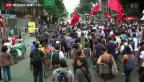 Video «Protest in Brasilien» abspielen