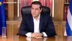 Video «Tspiras hält an Nein-Parole fest» abspielen