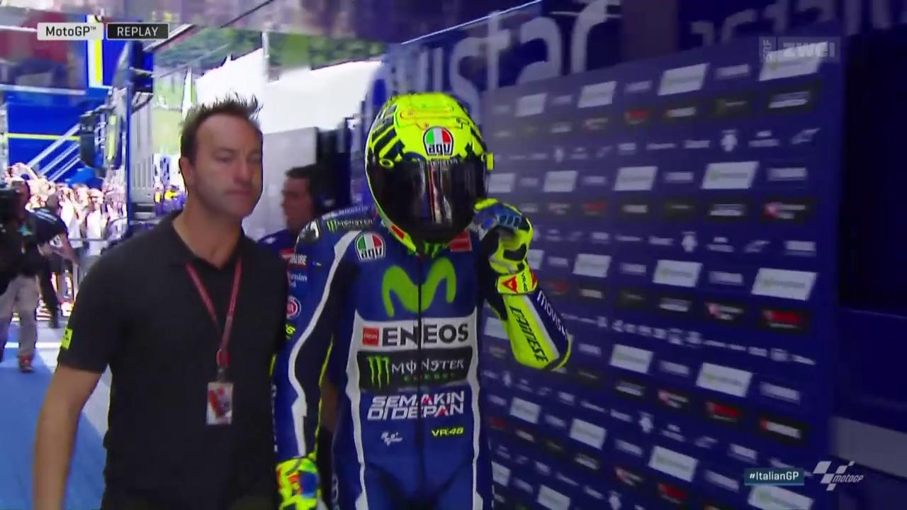 Rossi-Euphorie löst sich in Rauch auf