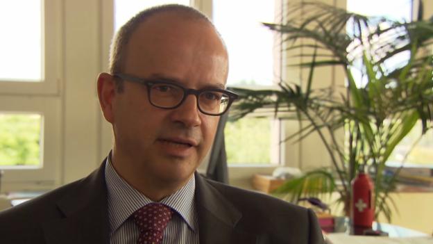 Video «Eric Scheidegger, Leiter Direktion Wirtschaftspolitik Seco» abspielen