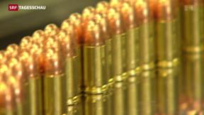 Video «Zweifelhafte Waffenexporte» abspielen