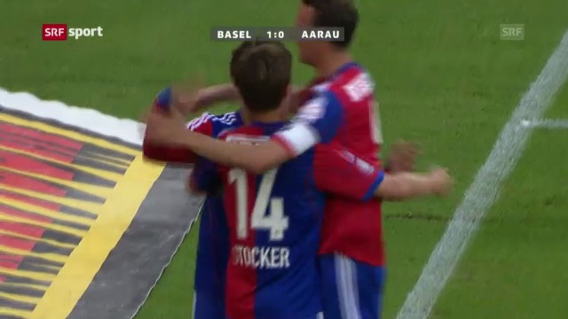 Spielbericht Basel - Aarau («sportaktuell»)