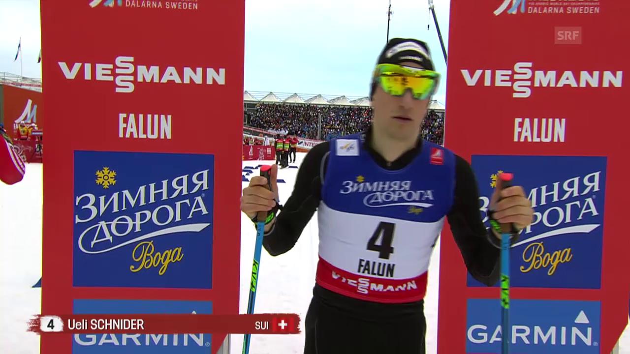 Der Halbfinal von Ueli Schnider
