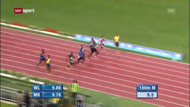 Video «Usain Bolt in Rom geschlagen («sportaktuell»)» abspielen