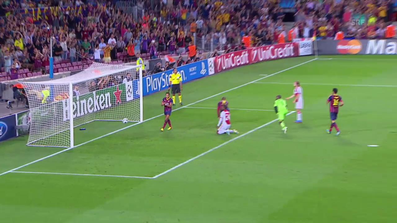 Fussball: Barcelona - Ajax