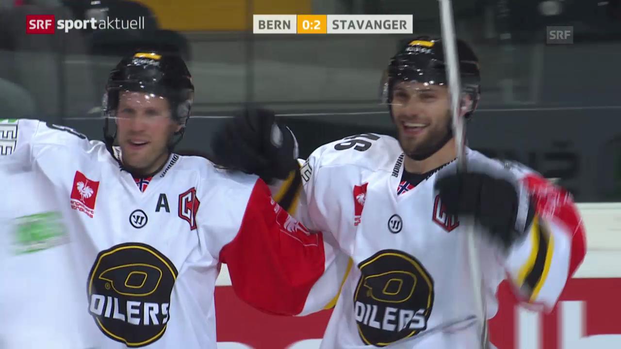 Eishockey: CHL, Bern-Stavanger