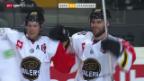 Video «Eishockey: CHL, Bern-Stavanger» abspielen