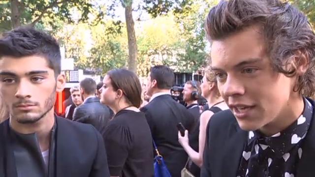 One Direction: über den Massenauflauf an ihrer Filmpremiere