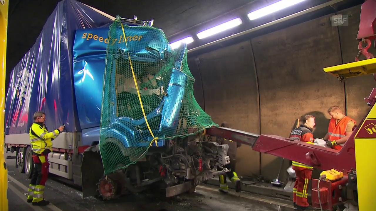 Gotthard-Unfall (unkommentiert)