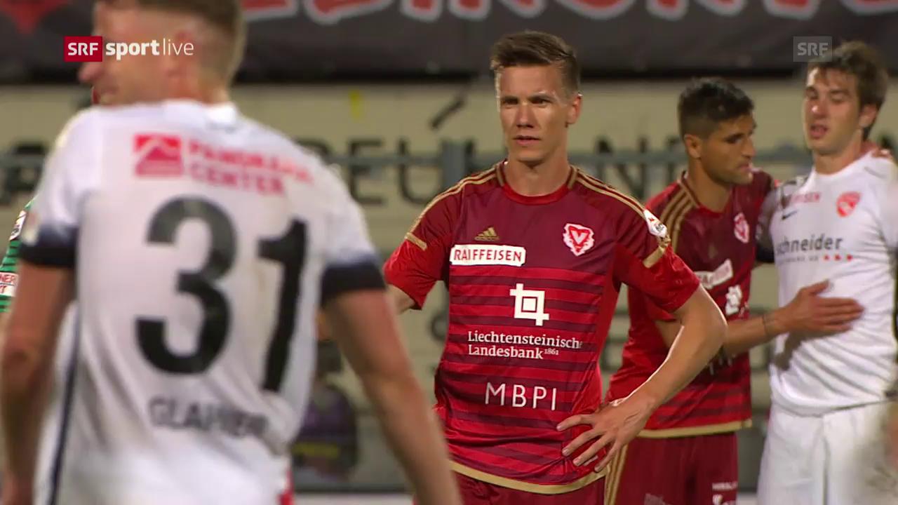Thun fügt dem FC Vaduz eine letzte Super-League-Niederlage zu