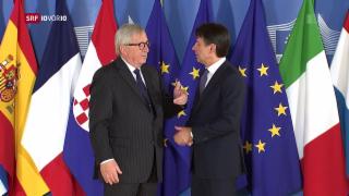 Video «Wie Italien sein Schuldenwachstum rechtfertigt» abspielen