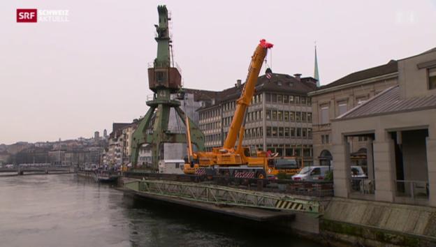 Video «Abschied vom Hafenkran» abspielen