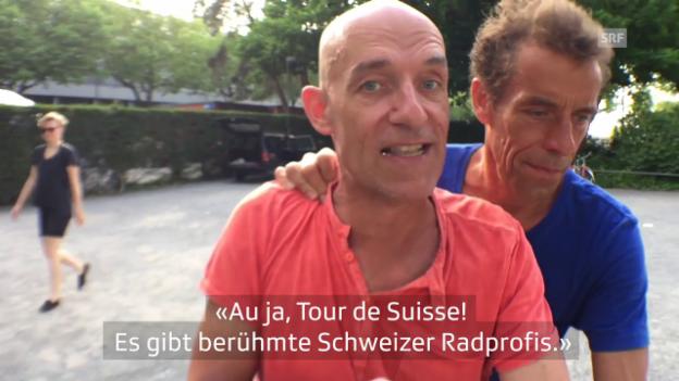Video «Das Geheimnis der Tour de Suisse» abspielen