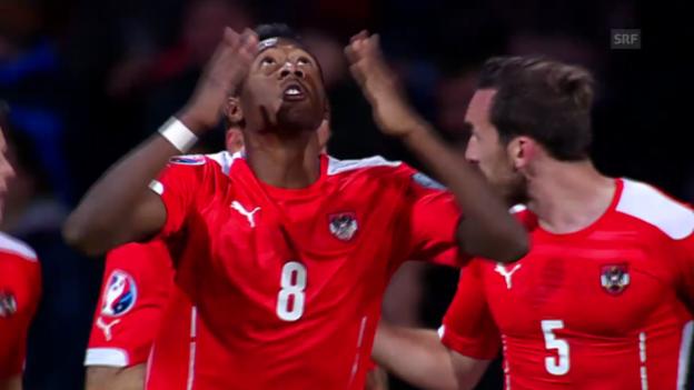 Video «Fussball: EM-Quali, Moldawien - Österreich» abspielen