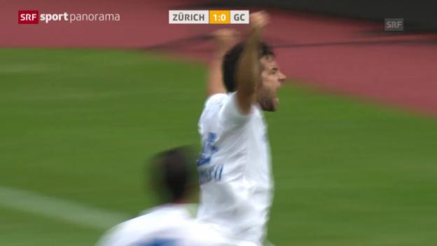 Video «Fussball: FCZ - GC» abspielen