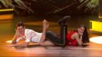 Video «Franco Marvulli & Valery Reuser mit einem Showdance zu «Don't Stop Me Now»» abspielen