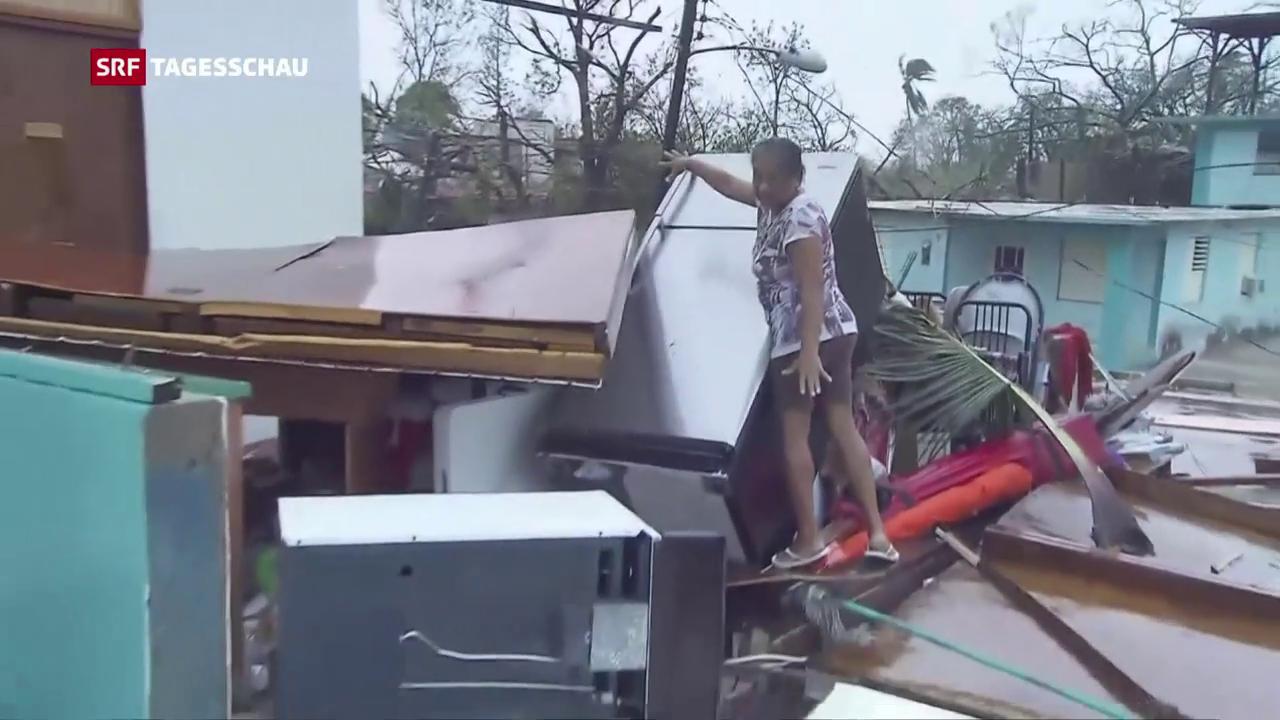 «Maria» zieht Puerto Rico den Stecker