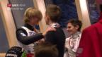 Video «Tande krönt sich zum Weltmeister im Skifliegen» abspielen