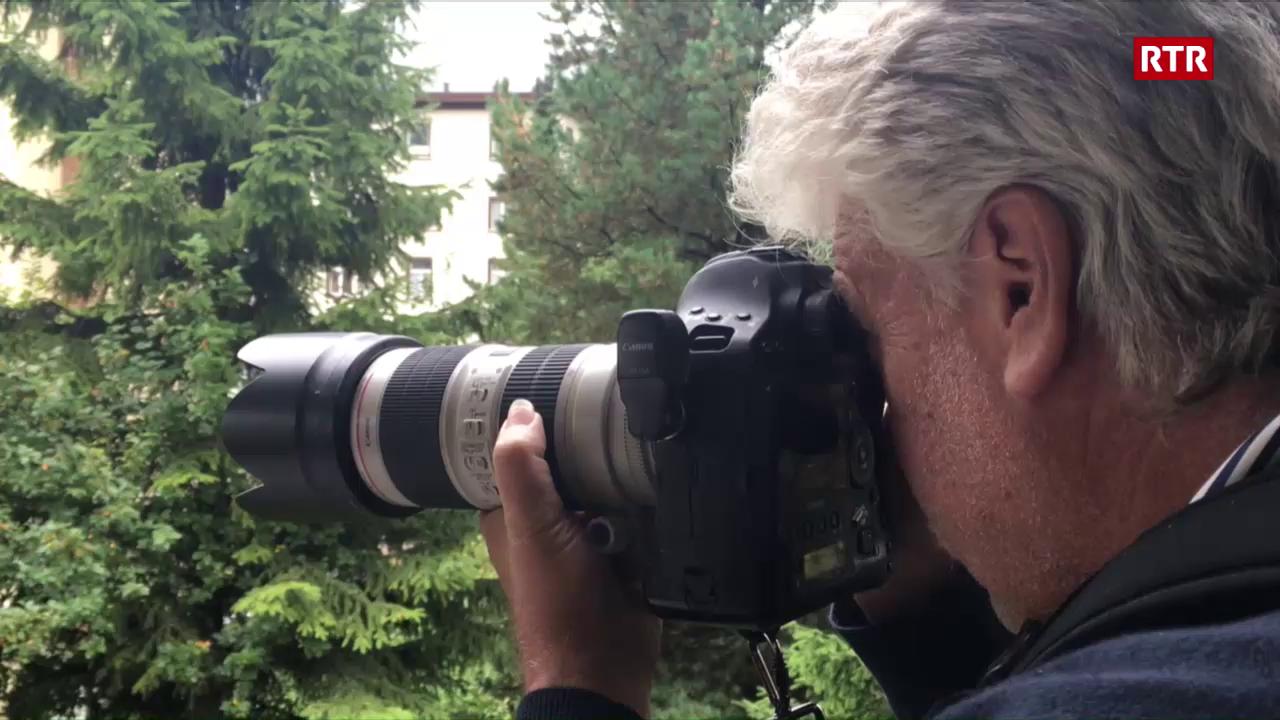 Andy Mettler, mainafatschenta da Swissimage