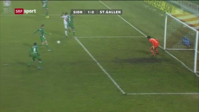 FC Sion - FC St. Gallen («sportaktuell»)